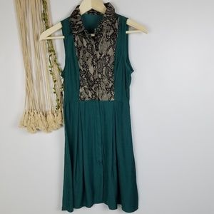 Doe & Rae, NWT, Boutique, emerald green color with